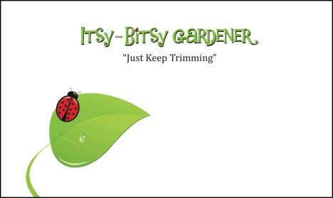 Itsy-Bitsy Gardener