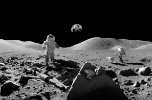 Mira the Moon Goddess - Photo Composite