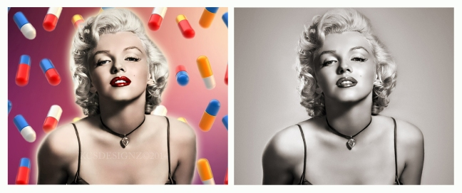 Marilyn Monroe - Photo Colorization