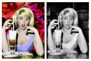 Sue Lyon - Photo Colorization