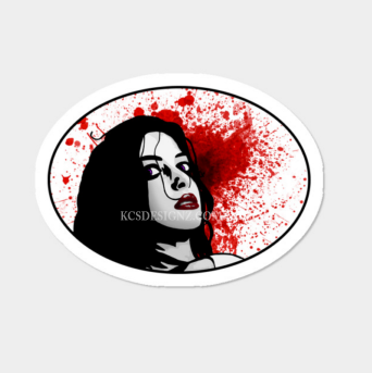 SCREEN QUEEN (STICKER)