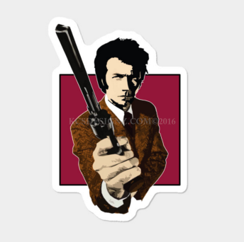 DIRTY HARRY (STICKER)
