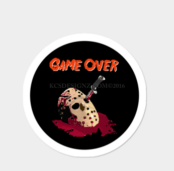 GAME OVER (STICKER)