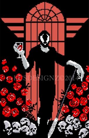Hunter Rose - Pixel Art